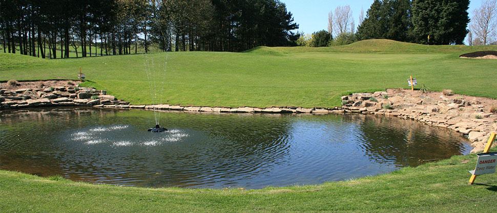 Golf - Drainage